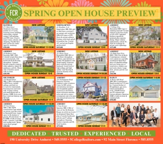 Spring Open House Preview