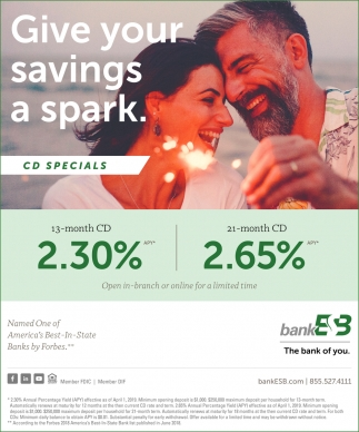 Give Your Savings a Spark