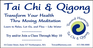 Transform Your Health Thru Moving Meditation