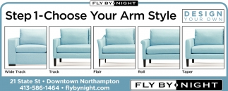Setp 1-Choose Your Arm Style