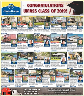 Congratulations Umass Class of 2019