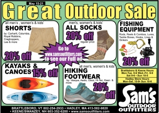 Great Outdoor Sale