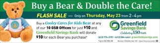 Buy a Bear & Double the Care
