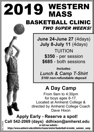 Western Mass Basketball Clinic