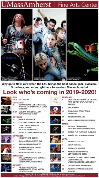 Look Who's Coming in 2019-2020