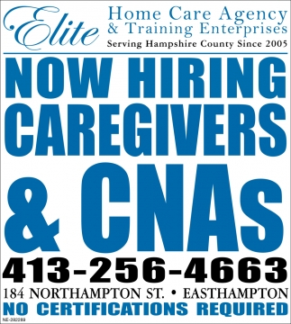 Now Hiring Caregivers & CNAs