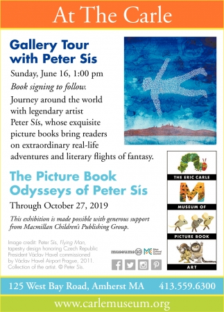 Gallery Tour with Peter Sís