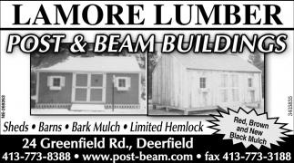 Post & Beam Buildings