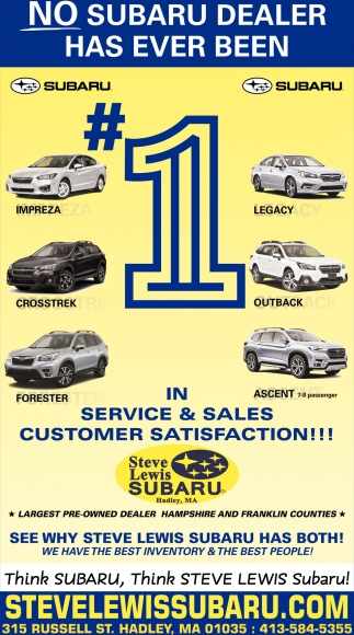 No Subaru Dealer has Ever Been