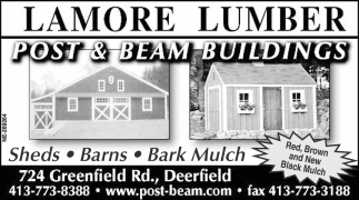 Post & Beam Buildings