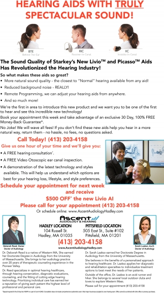 Hearing Aids with Truly Spectacular Sound