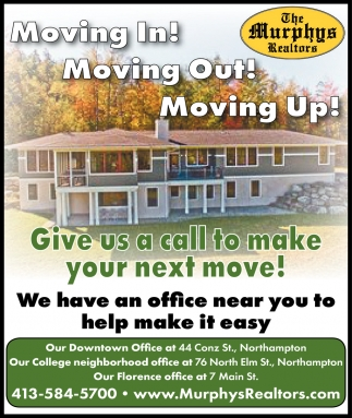 Moving In! Moving Out! Moving Up!