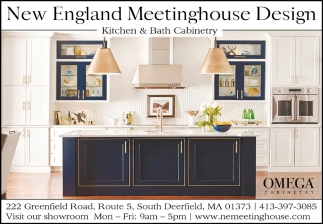 Kitchen & Bath Cabinetry, New England Meetinghouse Design ...