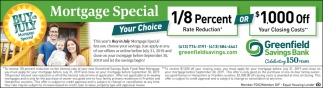 Mortgage Special