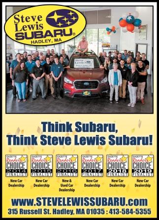 Think Subaru Think Steve Lewis Subaru