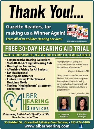 Free 30-Day Hearing Aid Trial