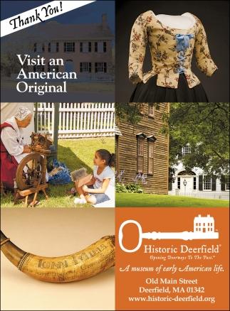 Visit an American Original