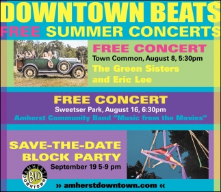 Downtown Beats Free Summer Concerts