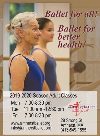 Ballet for Better Health