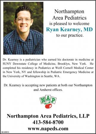 Welcome Ryan Kearney, MD