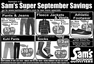 Super September Savings
