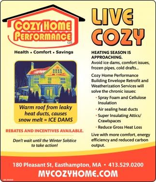 Live Cozy
