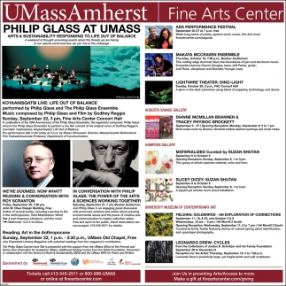 Philip Glass at Umass