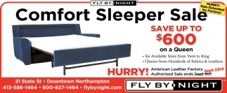 Comfort Sleeper Sale