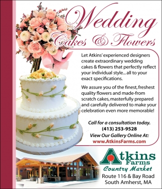 Weddings Cakes & Flowers