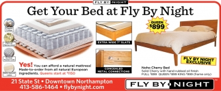 Get Your Bed at Fly By Night