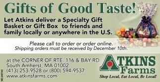Gift of Good Taste!