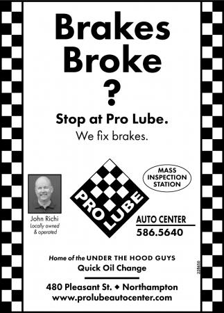 Brakes Broke?