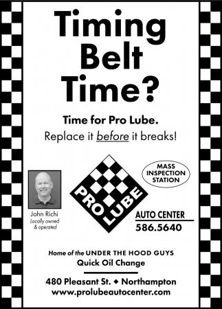Timing Belt Time?