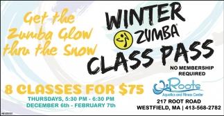 Winter Zumba Class Pass