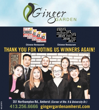 Thank You for Voting Us Winner Again