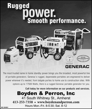 Rugged Power Smooth Performance