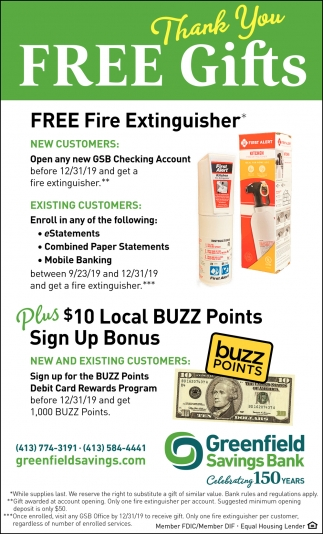 Free Fire Extinguisher