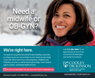 Need a Midwife or OB-GYN?