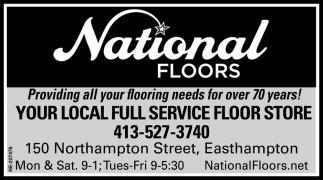 Local Full Service Floor Store