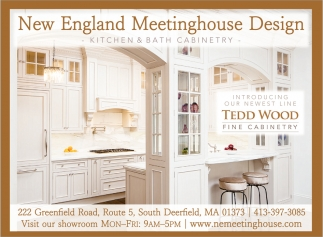 Kitchen Bath Cabinetry New England Meetinghouse Design South