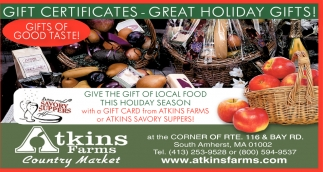 Give the Gift of Local Food
