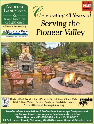 Celebrating 43 Years of Serving the Pioneer Valley