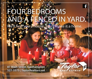Four Bedrooms and a Fenced in Yard