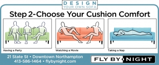 Choose Your Cushion Comfort