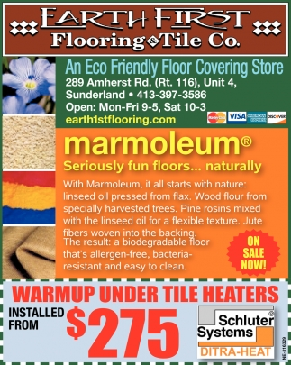 An Eco Friendly Floor Covering Store