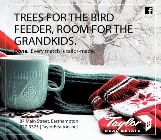 Trees for the Bird Feeder