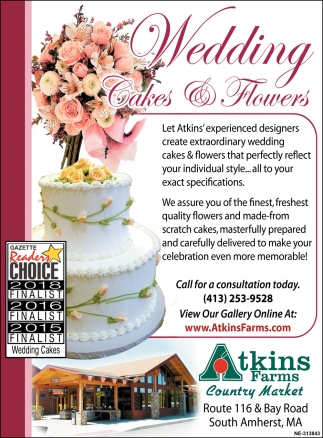 Wedding Cakes & Flowers