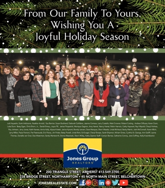 From Our Family to Yours, Wishing You a Joyful Holiday Season