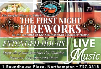 The First Night Fireworks Smithsonian Cafe Chowder House
