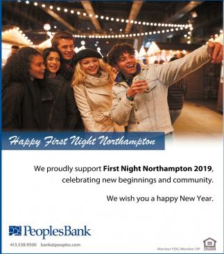 Happy First Night Northampton